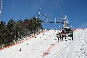 Mosorny Groń, Zawoja, wyciąg narciarski