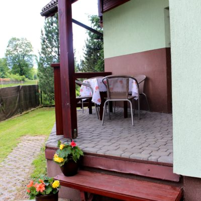D3 - taras - wejście do domku