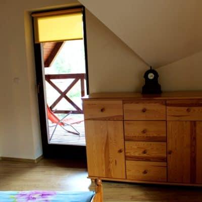 D5 - sypialnia z dwoma łóżkami pojedynczymi