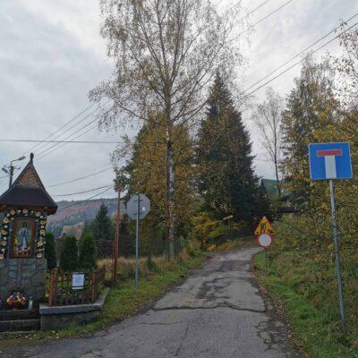 Dojazd do domków D1 oraz D2
